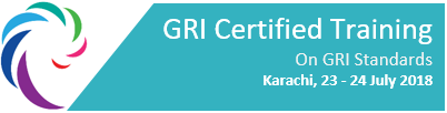 GRI Certified Training - Karachi - 23 - 24 July, 2018